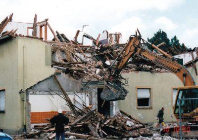 altes Bürogebäude - Abriss
